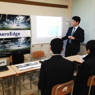 Recruiting visit at the National Institute of Technology, Oyama College
