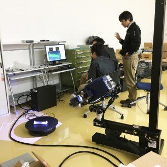 Installation of New Model 3D Scanner